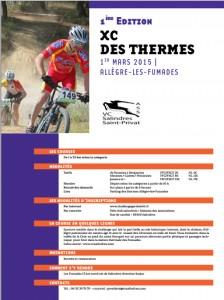 XC des Thermes 2015