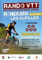 Randonnée VTT Romanin les Alpilles (3ème édition) @ Saint Rémy de Provence | Saint-Rémy-de-Provence | Provence-Alpes-Côte d'Azur | France